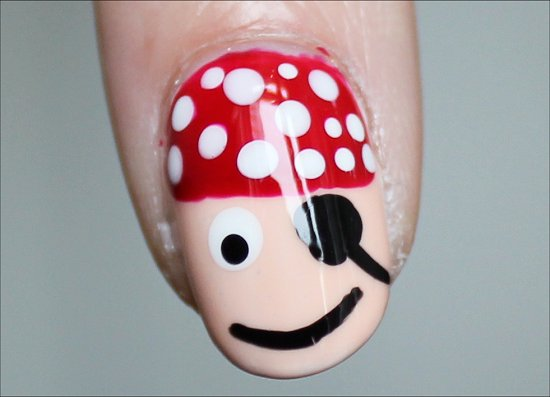 Pirate-Nail-Art