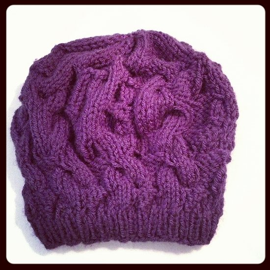 Purple-Beanie-I-Knit