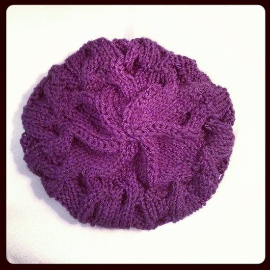 Purple-Hat-I-Knit