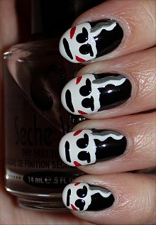 The-Bride-of-Frankenstein-Nails-Nail-Art-Tutorial