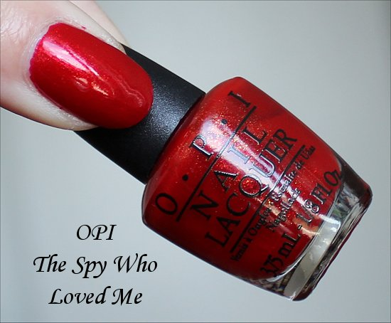 The Spy Who Loved Me by OPI Skyfall Collection