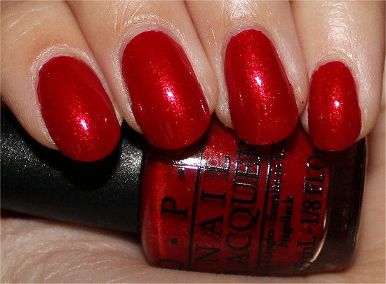 The Spy Who Loved Me by OPI Swatches