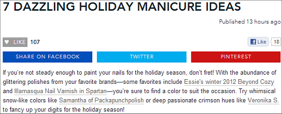 Beautylish SwatchAndLearn Holiday Manicure Ideas