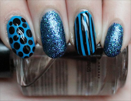 China Glaze Cirque du Soleil Collection Swatches Blue Nail Art