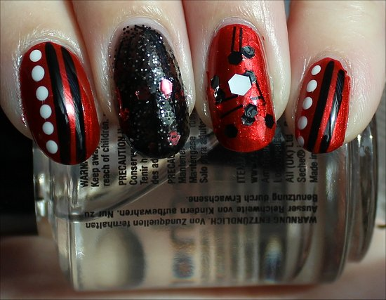 China Glaze Cirque du Soleil Collection Swatches Red Nail Polish