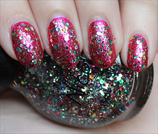 Confetti Fun Nicole by OPI Selena Gomez Collection Swatches