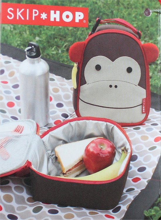 Cute Monkey Bag for Lunches