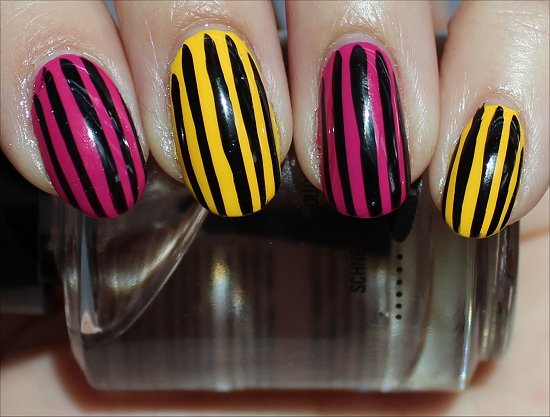 Fun Nail Art Ideas Stripe Nails