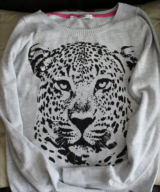 Garage Clothing Cheetah Sweater