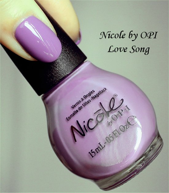 Love Song Nicole by OPI Selena Gomez Collection Swatches & Review