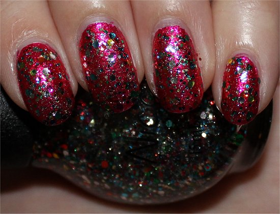 Nicole by OPI Confetti Fun Selena Gomez Collection 2013 Swatches
