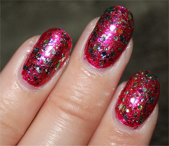 Nicole by OPI Confetti Fun Swatch