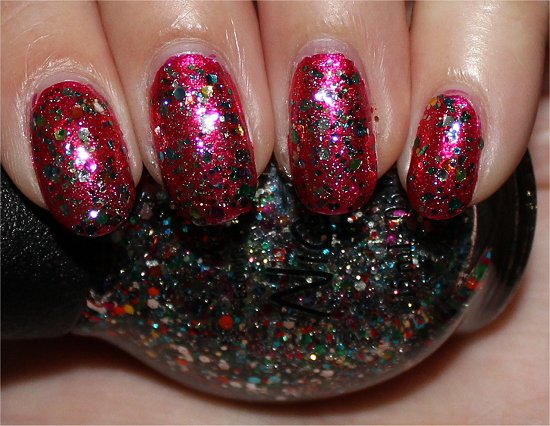 Nicole by OPI Confetti Fun Swatches