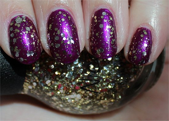 Nicole by OPI Kissed At Midnight Swatch & Review