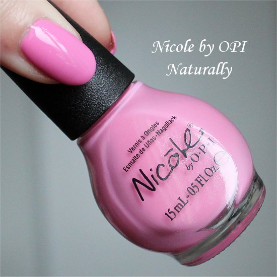 Nicole by OPI Naturally Selena Gomez Collection 2013