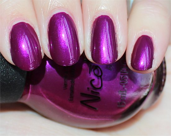 Nicole by OPI Pretty in Plum Photos