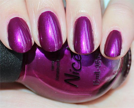 Nicole by OPI Pretty in Plum Pics