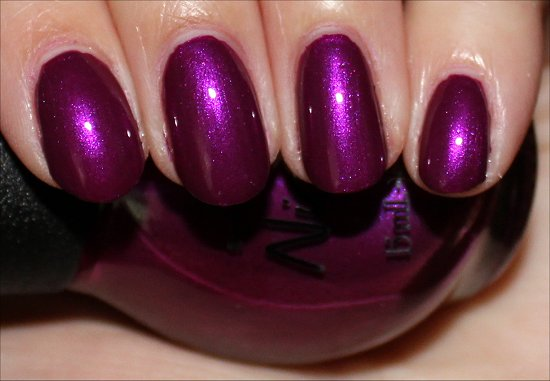 Nicole by OPI Pretty in Plum Review & Swatch