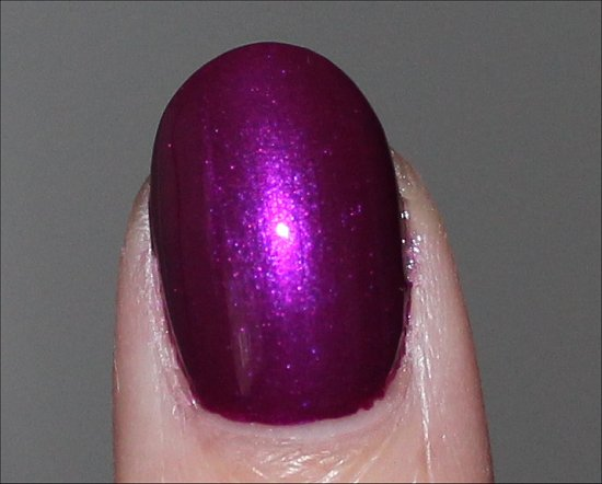 Nicole by OPI Pretty in Plum Review & Swatches