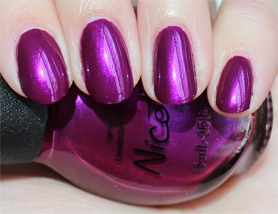 Nicole by OPI Pretty in Plum Selena Gomez