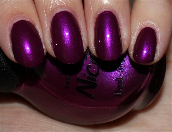 Nicole by OPI Pretty in Plum Swatch & Review