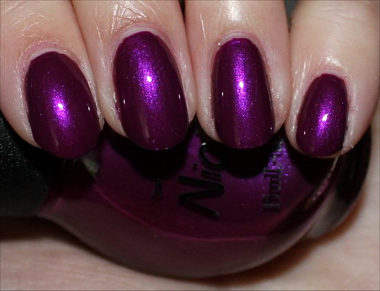 Nicole by OPI Pretty in Plum Swatch
