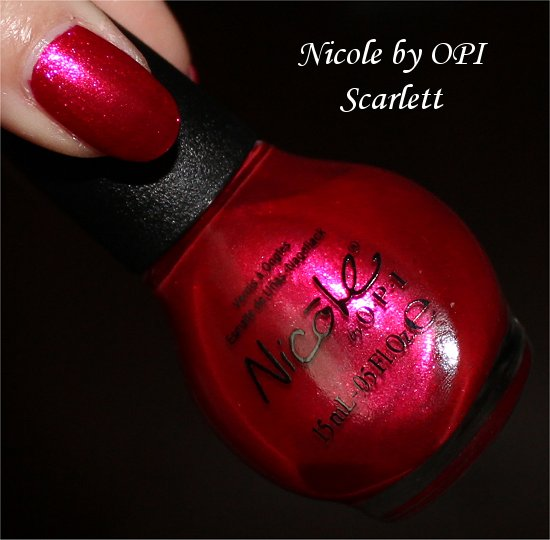 Nicole by OPI Scarlett Selena Gomez Collection
