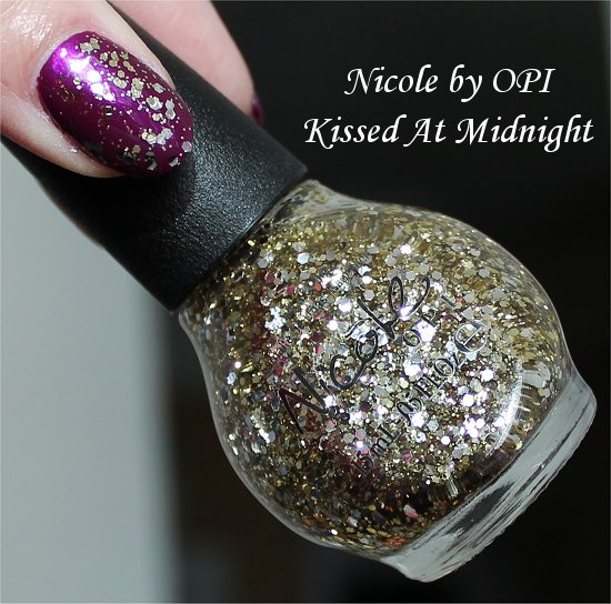 Nicole by OPI Selena Gomez Collection 2013 Swatches Kissed At Midnight Swatch