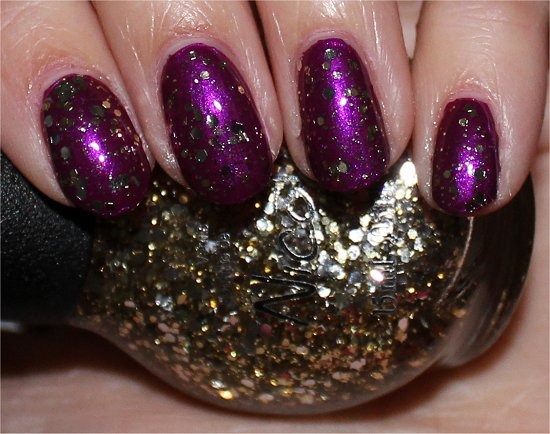 Nicole by OPI Selena Gomez Collection Swatches Kissed At Midnight
