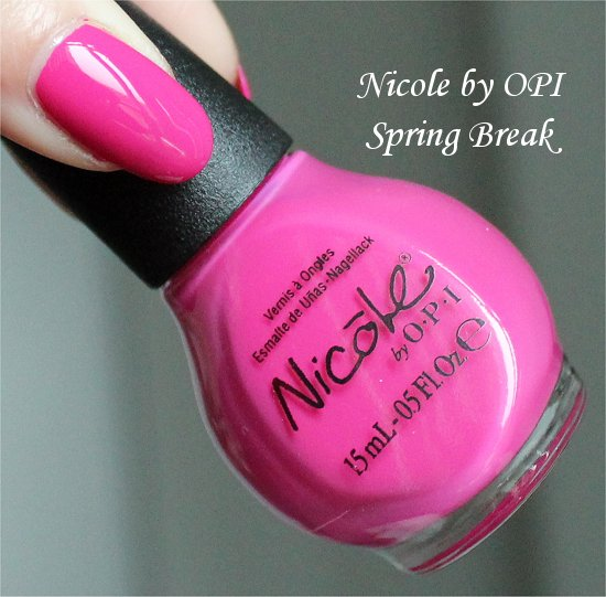 Nicole by OPI Spring Break Selena Gomez Collection