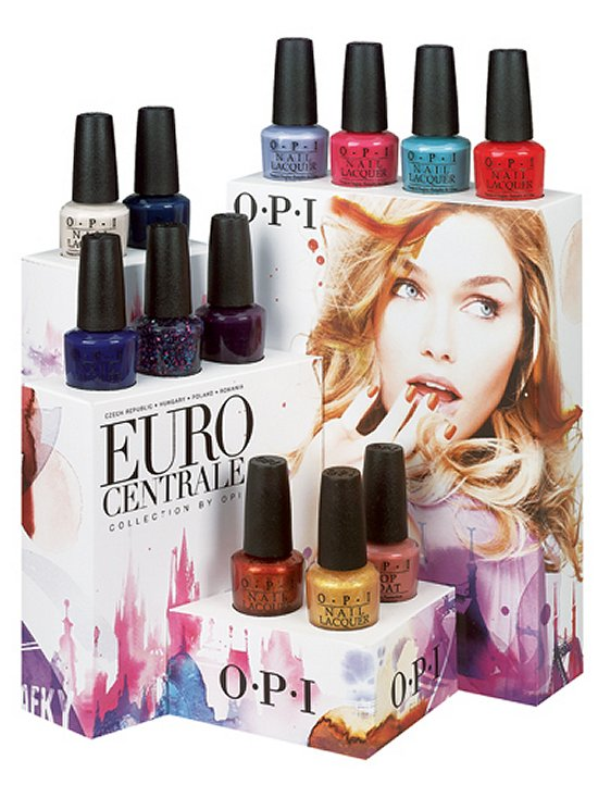OPI Euro Centrale Collection Press Release & Promo Pictures