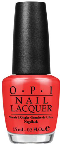 OPI My Paprika Is Hotter Than Yours OPI Euro Centrale Collection Press Release & Promo Pictures