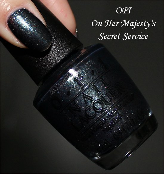 OPI On Her Majestys Secret Service Swatch & Review