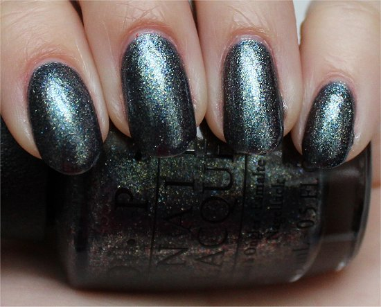 OPI Skyfall Collection Swatches On Her Majesty's Secret Service Swatch