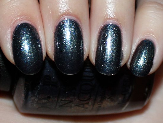 On Her Majesty's Secret Service by OPI Skyfall Collection Swatches