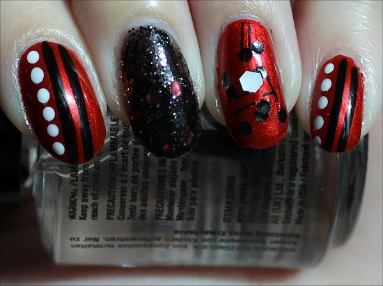 Red Fiend Nail Art