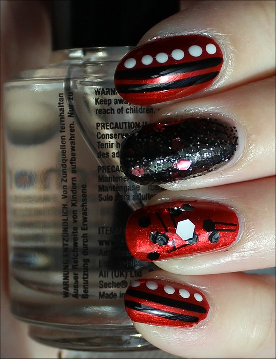 Red Fiend Nails Nail Art Swatches