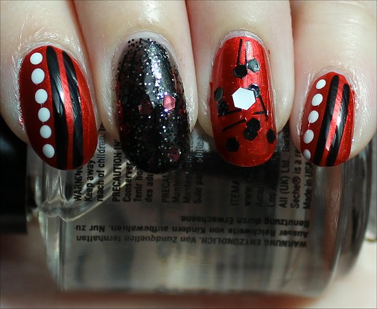 Red Nail Art Swatches