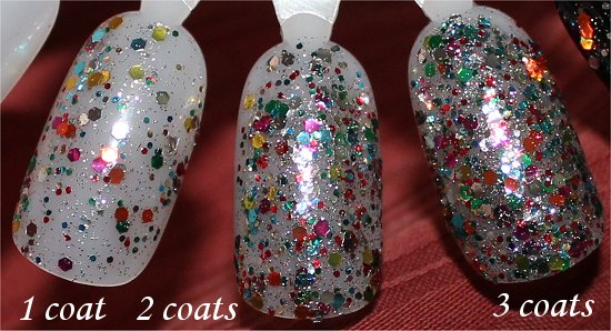 Selena Gomez Collection Nicole by OPI Confetti Fun