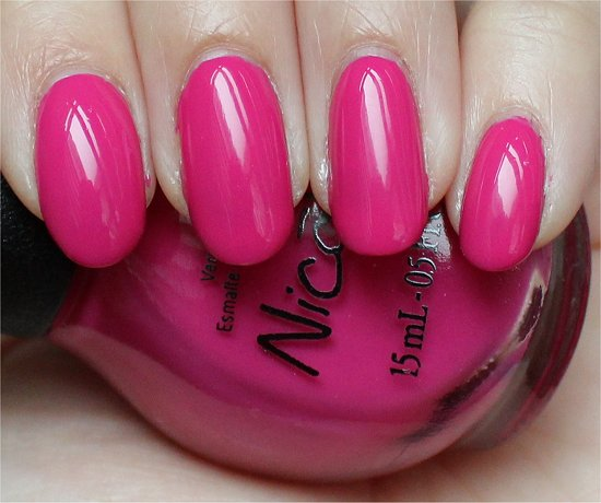 Selena Gomez Nicole by OPI Spring Break Swatch