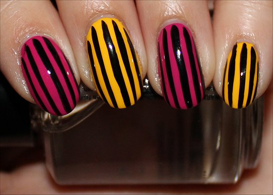Show Your Stripes Manicures