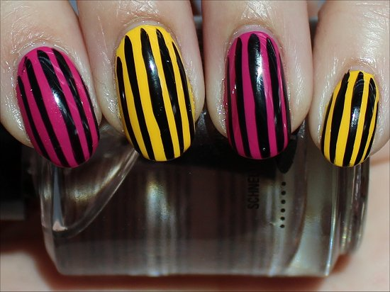 Simple Nail Art Ideas Stripe Nails