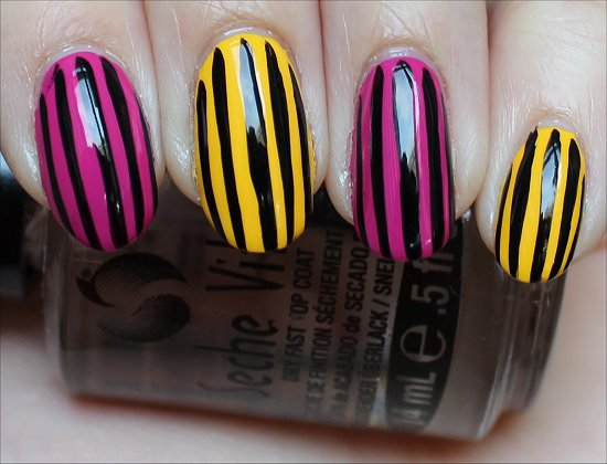 Stripe Nail Art Easy Nails