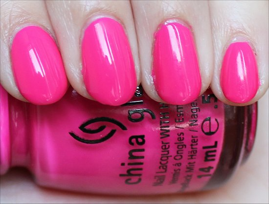 China Glaze Escaping Reality Review & Swatches