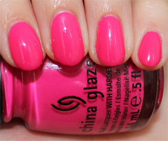 China Glaze Escaping Reality Swatch & Review