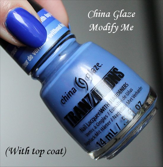 China Glaze Modify Me Photos Tranzitions Collection