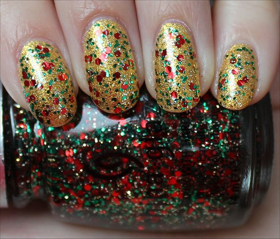 China Glaze Party Hearty Swatch & Review OPI Oy-Another Polish Joke