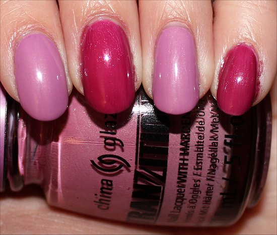 China Glaze Split Perso-Nail-ity Review & Swatch