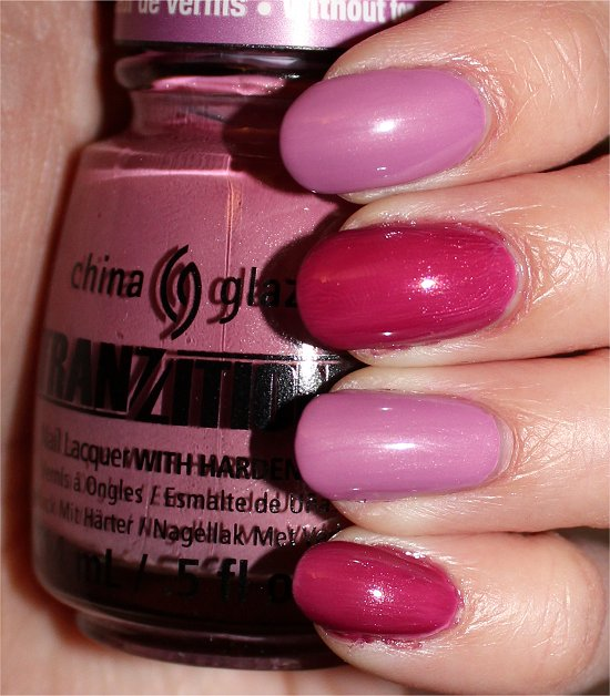 China Glaze Split Perso-Nail-ity Swatches & Review