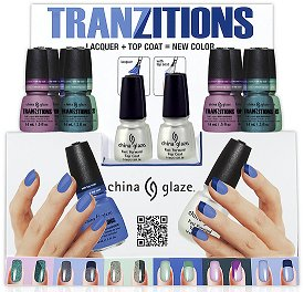 China Glaze Tranzitions Collection Press Release & Promo Pictures